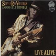 Stevie Ray Vaughan Live Alive UK 2-LP vinyl set