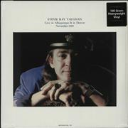 Stevie Ray Vaughan Live In Albuquerque & Denver November 1989 - Sealed UK 2-LP vinyl set