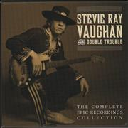 Stevie Ray Vaughan The Complete Epic Recordings Collection UK cd album box set