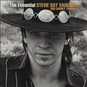 Stevie Ray Vaughan The Essential Stevie Ray Vaughan And Double Trouble UK 2-LP vinyl set