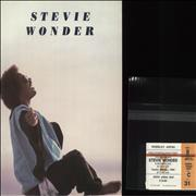 Click here for more info about 'Stevie Wonder - 1984 European Tour + 2 Ticket Stubs'
