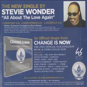 Click here for more info about 'Stevie Wonder - All About The Love Again'