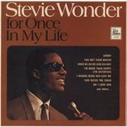 Stevie Wonder For Once In My Life UK vinyl LP