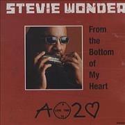 Click here for more info about 'Stevie Wonder - From The Bottom Of My Heart'