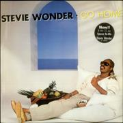 Click here for more info about 'Stevie Wonder - Go Home'