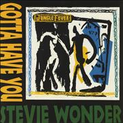 Click here for more info about 'Stevie Wonder - Gotta Have You'