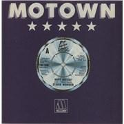 """Stevie Wonder Happy Birthday - 4pr UK 7"""" vinyl"""