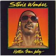 Stevie Wonder Hotter Than July Netherlands vinyl LP