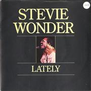 Click here for more info about 'Stevie Wonder - Lately - 4 prong + Sleeve'