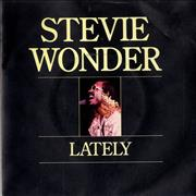 Click here for more info about 'Stevie Wonder - Lately - Solid P/S'