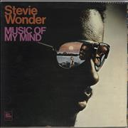 Stevie Wonder Music Of My Mind - 1st UK vinyl LP