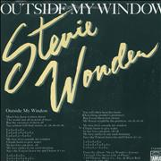 Click here for more info about 'Stevie Wonder - Outside My Window'
