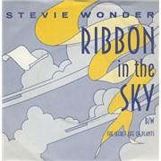 "Stevie Wonder Ribbon In The Sky UK 7"" vinyl"