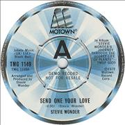 Click here for more info about 'Stevie Wonder - Send One Your Love'