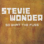 Click here for more info about 'Stevie Wonder - So What The Fuss'