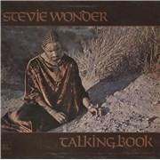 Stevie Wonder Talking Book - 1st UK vinyl LP