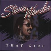 Click here for more info about 'Stevie Wonder - That Girl - Picture Sleeve'
