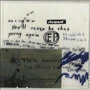 Click here for more info about 'Steward - You'll Never Be That Young Again - Clear vinyl'