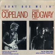 Click here for more info about 'Stewart Copeland - Don't Box Me In'