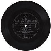 Click here for more info about 'Stiff Little Fingers - Now Then... Edited Highlights - Flexi'