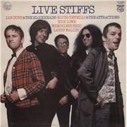 Click here for more info about 'Stiff Records - Live Stiffs - EX'