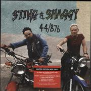 Click here for more info about 'Sting - 44/876 - Red Vinyl - Sealed'