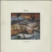 """Sting All This Time UK 12"""" vinyl"""