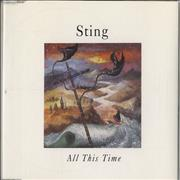 Sting All This Time UK CD single