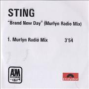 Sting Brand New Day - Murlyn Radio Mix UK CD-R acetate Promo