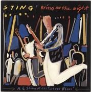Sting Bring On The Night UK 2-LP vinyl set