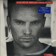 "Sting Fortress Around Your Heart - Double Pack UK 7"" vinyl"