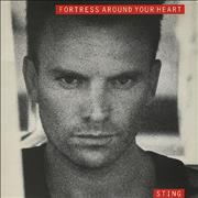 "Sting Fortress Around Your Heart UK 7"" vinyl"