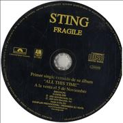 Click here for more info about 'Sting - Fragile'