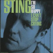 Click here for more info about 'Sting - I'm So Happy I Can't Stop Crying'