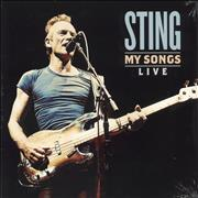 Click here for more info about 'Sting - My Songs (Live) - Sealed'
