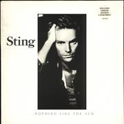 Click here for more info about 'Sting - Nothing Like The Sun + lyric insert'