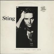 Sting Nothing Like The Sun - Complete UK 2-LP vinyl set