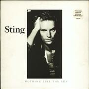 Click here for more info about 'Sting - Nothing Like The Sun - Complete - EX'