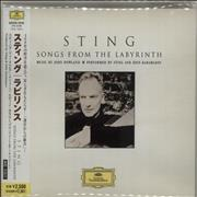 Sting Songs From The Labyrinth Japan CD album