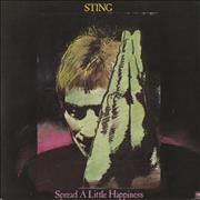 Click here for more info about 'Sting - Spread A Little Happiness'