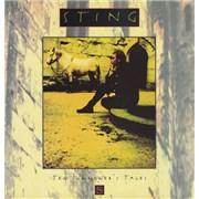 Sting Ten Summoner's Tales UK vinyl LP