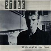 Sting The Dream Of The Blue Turtles UK vinyl LP
