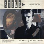 Sting The Dream Of The Blue Turtles - EX UK picture disc LP