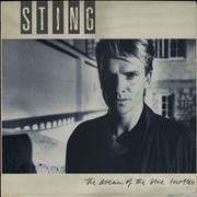 Sting The Dream Of The Blue Turtles Portugal vinyl LP