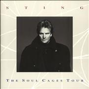 Click here for more info about 'Sting - The Soul Cages Tour'