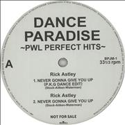 Click here for more info about 'Stock Aitken Waterman - Dance Paradise PWL Perfect Hits'