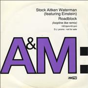 Click here for more info about 'Stock Aitken Waterman - Roadblock'