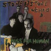 Stone By Stone I Pass For Human USA vinyl LP
