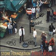 Click here for more info about 'Stone Foundation - Street Rituals - Clear Vinyl + Autographed'