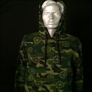 Click here for more info about 'Stone Roses - Etihad Stadium 2016 - Camouflage Hoodie/Medium'